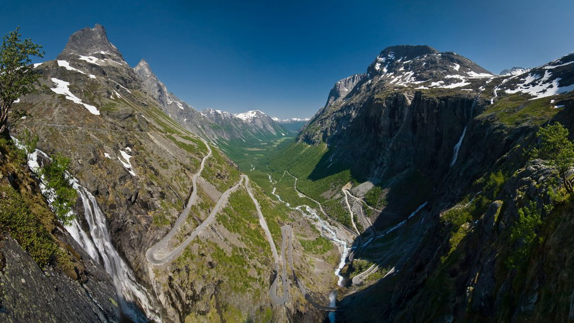 Trollstigen Norjassa